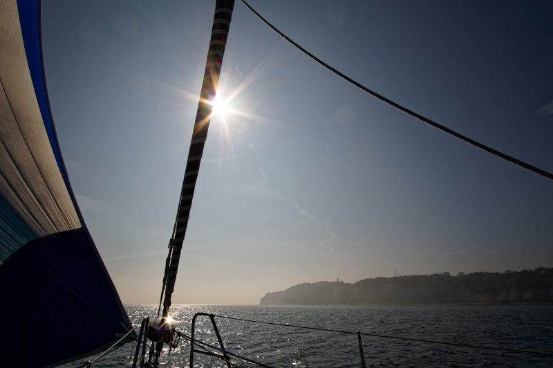 Moby Dick III vor Kap Arkona