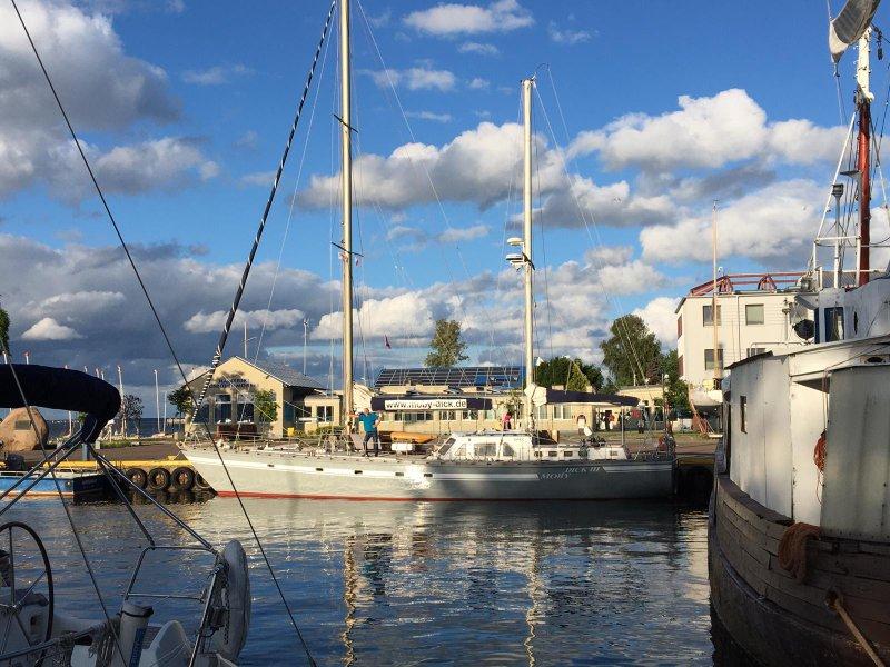 Moby Dick III fertig aufgeriggt
